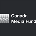 White Canada Media Fund logo on black background, linking to website