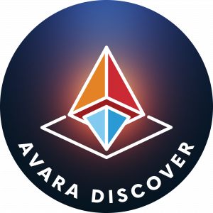 Full colour version of the AVARA Discover logo